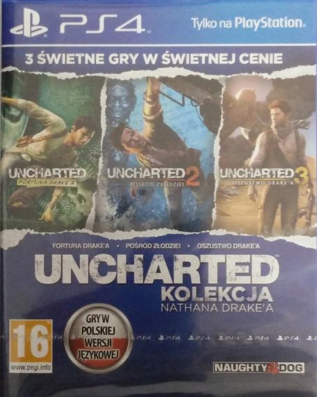 Uncharted Kolekcja Nathana Drake'a PL PS4