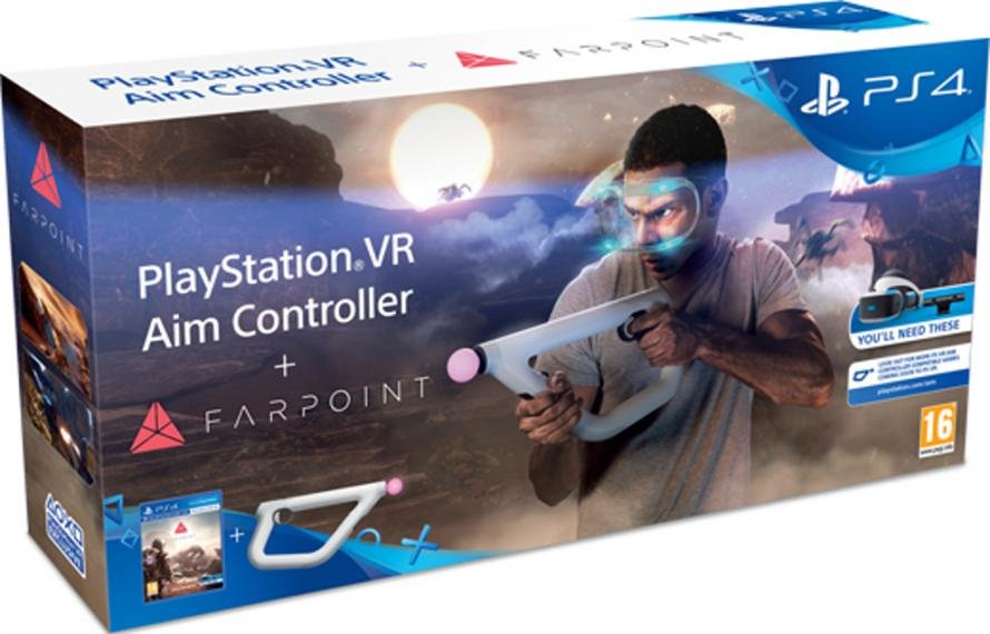 Farpoint + Aim Controller / Kontroler Move VR PL PS4