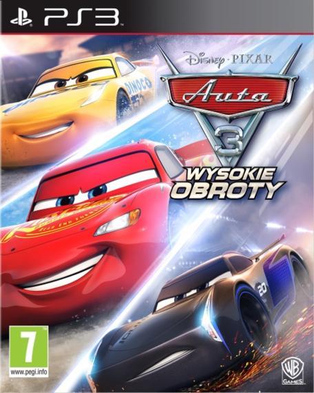 Auta 3 Wysokie Obroty PL PS3