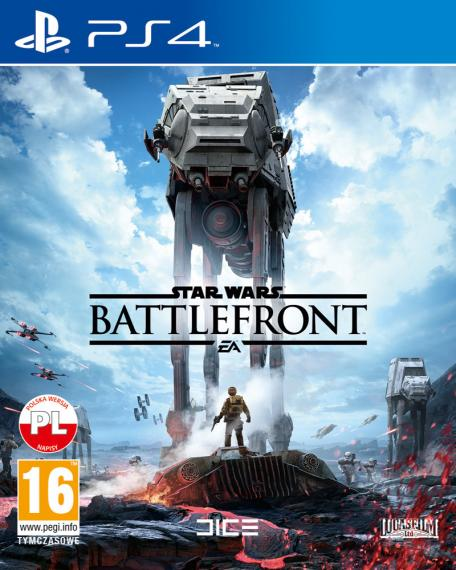 Star Wars Battlefront PL PS4