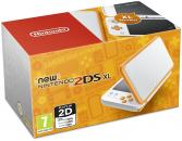 New Nintendo 2DS XL White + Orange