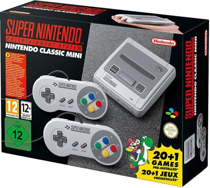 Nintendo Classic Mini Super Nintendo Entertainment System SNES