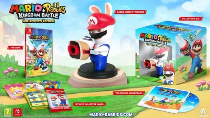 Mario + Rabbids Kingdom Battle Collectors Edition SWITCH
