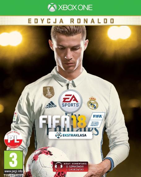 FIFA 18 Ronaldo Edition PL XBOX ONE