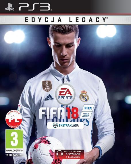 FIFA 18 PL PS3
