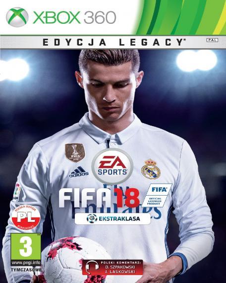 FIFA 18 PL XBOX 360