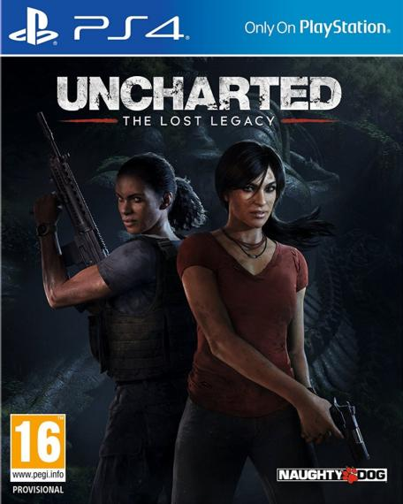 Uncharted Zaginione Dziedzictwo PL Dubbing  PS4