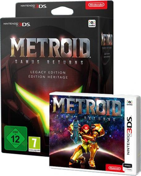Metroid: Samus Returns Legacy Edition 3DS