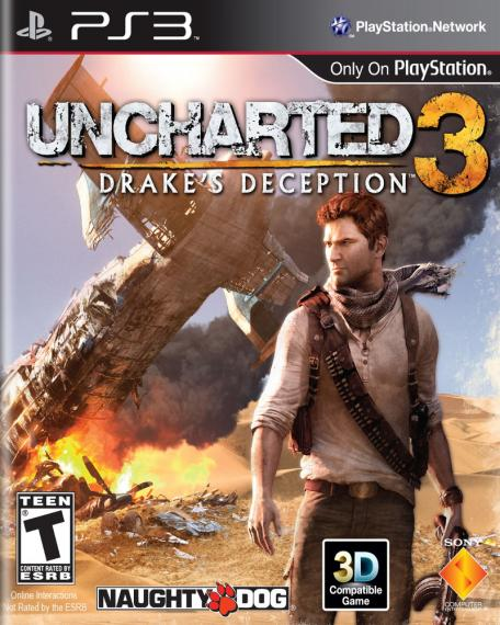Uncharted 3 Oszustwo Drake'a PS3
