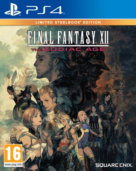 Final Fantasy XII The Zodiac Age Limited Edition PS4