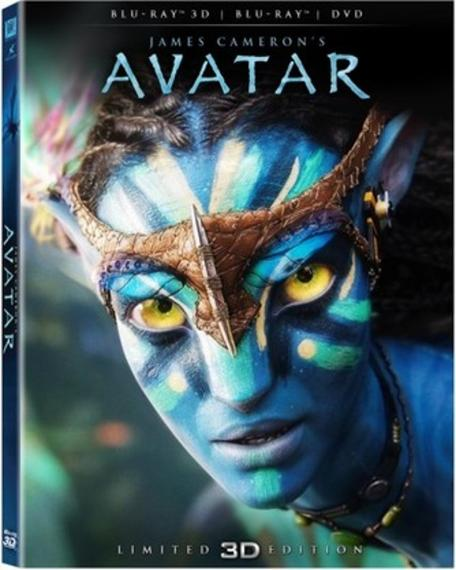 Avatar 3D/2D/DVD PL BLU-RAY