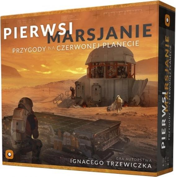 Pierwsi Marsjanie: Przygody na Czerwonej Planecie PL Planszówka