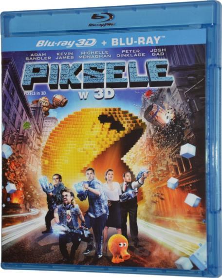 Piksele 3D/2D PL BLU-RAY
