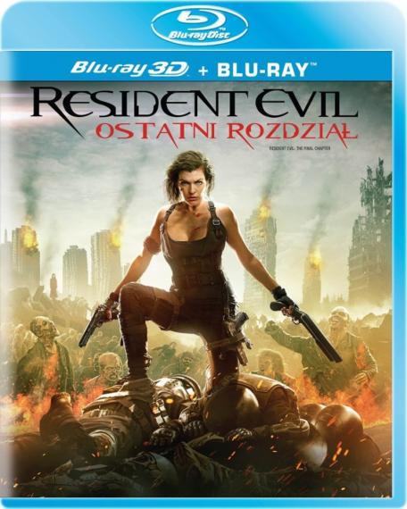 Resident Evil 6: Ostatni rozdział 3D/2D PL BLU-RAY