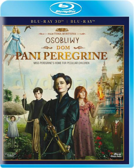 Osobliwy dom Pani Peregrine 3D/2D PL BLU-RAY