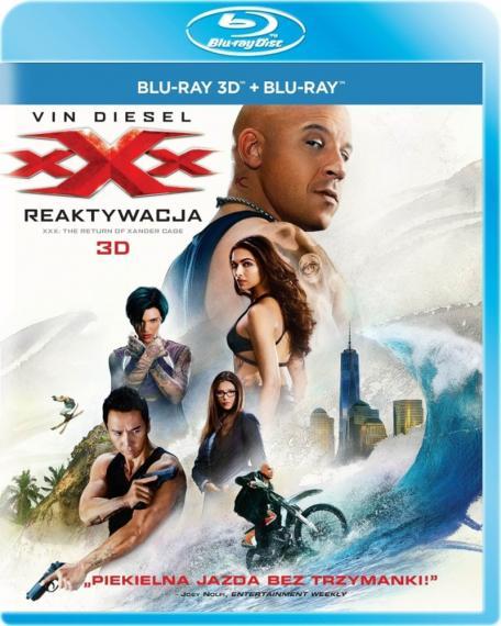 xXx: Reaktywacja 3D/2D PL BLU-RAY
