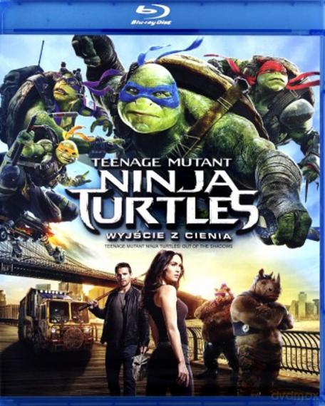 Wojownicze żółwie ninja: Wyjście z cienia PL BLU-RAY