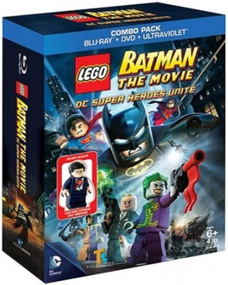 Lego Batman 3: Poza Gotham PL PS4 + Batman The Movie BD + Figurka
