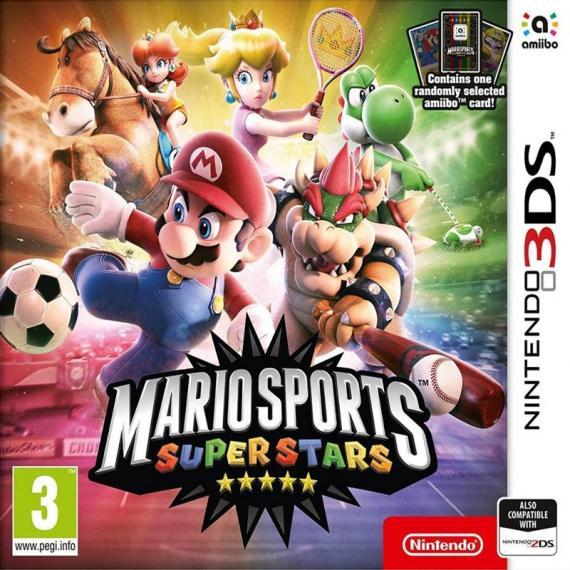 Mario Sports Superstars + Karta Amiibo 3DS