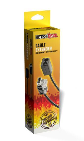 Przedłużacz do padów NES Mini, Wii, Wii U