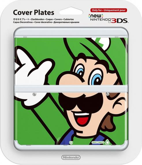 Cover Plates New Nintendo 3DS Luigi