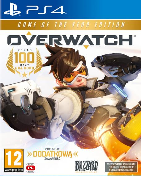 Overwatch Edycja Game of The Year PL PS4