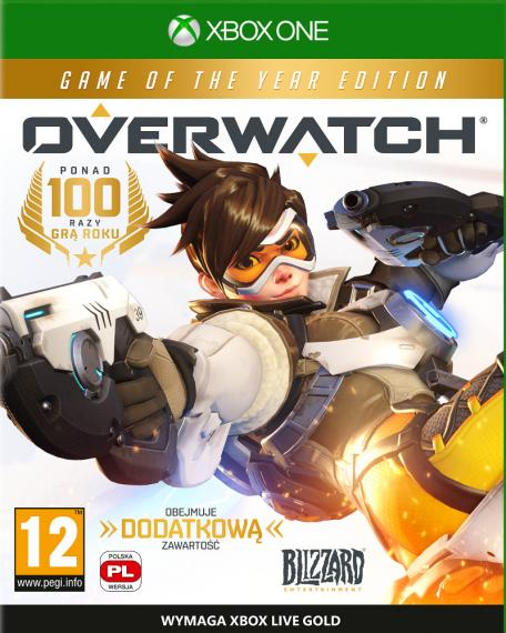 Overwatch Edycja Game of The Year PL XBOX ONE