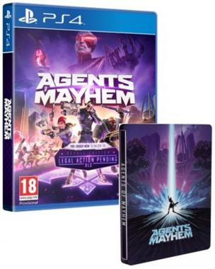 Agents of Mayhem Day One + Steelbook PL PS4