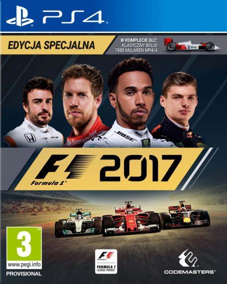 Formula F1 2017 Edycja Specjalna PL PS4