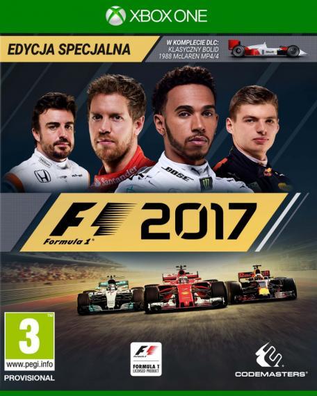 Formula F1 2017 Edycja Specjalna PL XBOX ONE