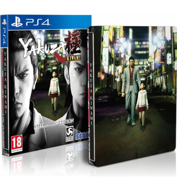 Yakuza Kiwami Steelbook Edition PS4