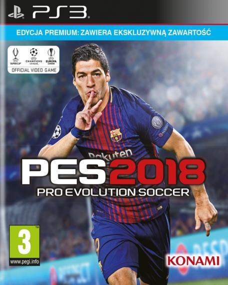 PES 18 Pro Evolution Soccer 2018 Premium PS3