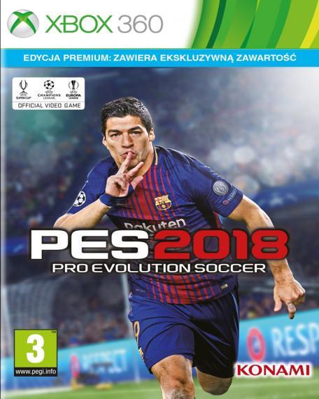 PES 18 Pro Evolution Soccer 2018 Standard XBOX 360