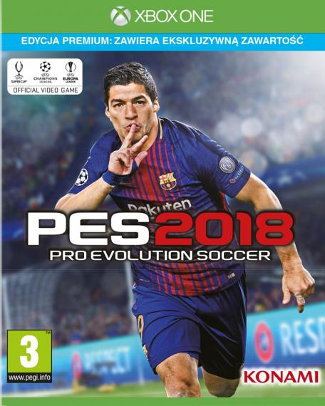 PES 18 Pro Evolution Soccer 2018 Premium XBOX ONE