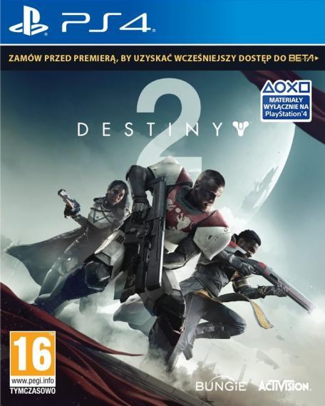 Destiny 2 + 5-DLC PL PS4