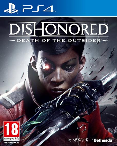 Dishonored Death of the Outsider PL PS4