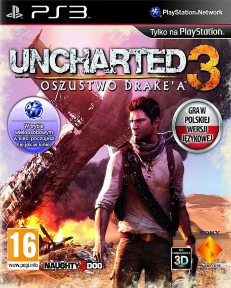 Uncharted 3 Oszustwo Drake'a PL PS3