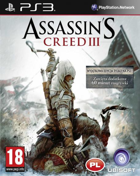 Assassin's Creed III 3 PL PS3