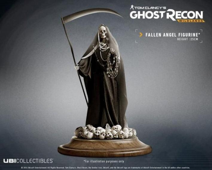 Ghost Recon Wildlands Fallen Angel Statue 29,9 cm.