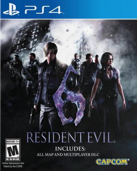 Resident Evil 6 PL PS4