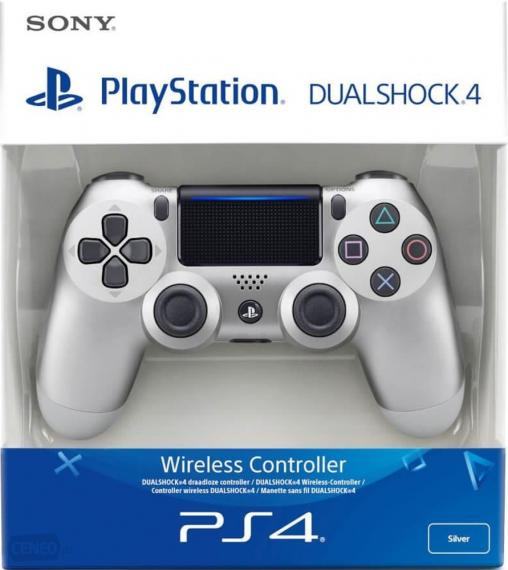 Dualshock Pad Silver V2 PS4