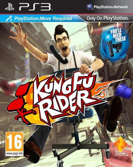 Kung Fu Rider PL PS3