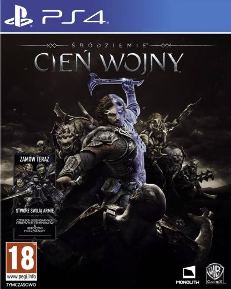 Śródziemie Cień Wojny PL + DLC PS4