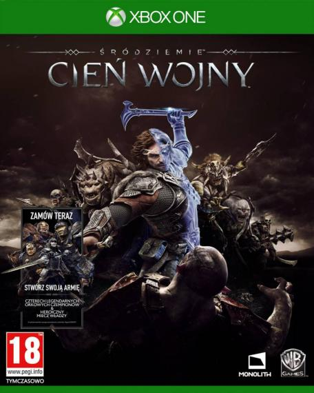 Śródziemie Cień Wojny PL + DLC XBOX ONE
