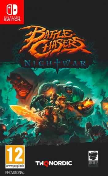 Battle Chasers Nightwar PL SWITCH