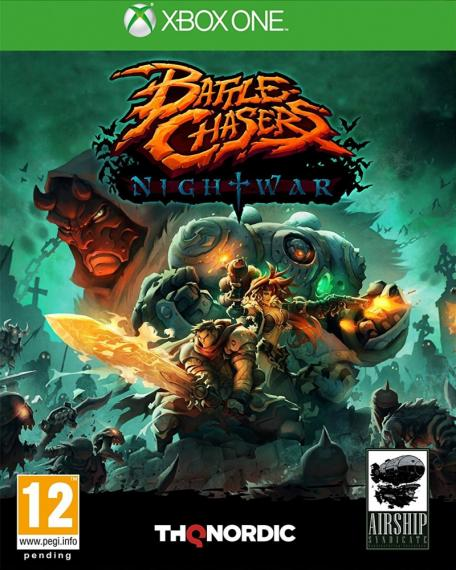 Battle Chasers Nightwar PL XBOX ONE
