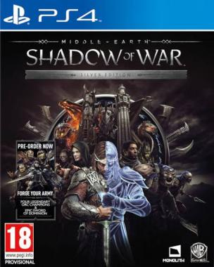 Śródziemie Cień Wojny Edycja Silver PL PS4