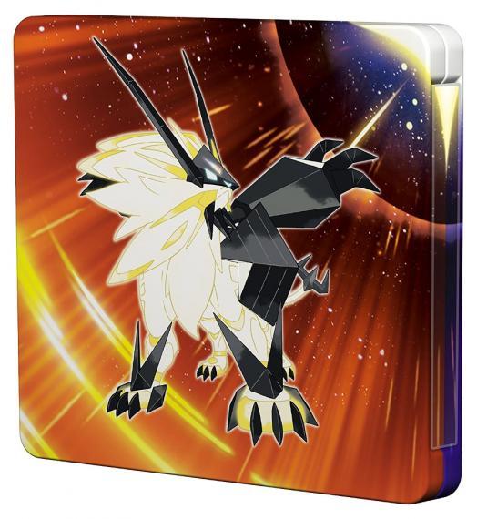 Pokemon Ultra Sun Edycja Limitowana Steelbook 3DS