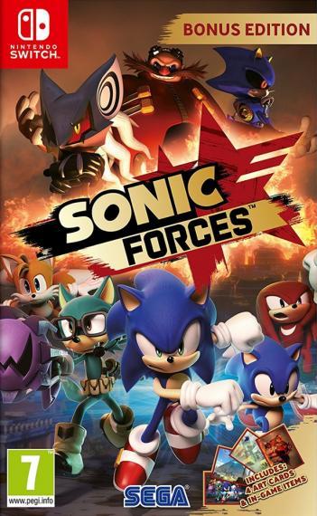 Sonic Forces Bonus Edition PL SWITCH