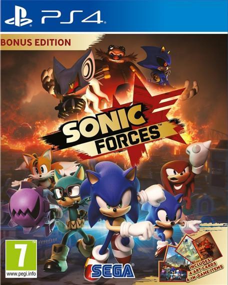 Sonic Forces Bonus Edition PL PS4